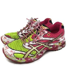Asics Shoes - ASICS Gel noosa tri 6 Running shoes neon pink 6.5